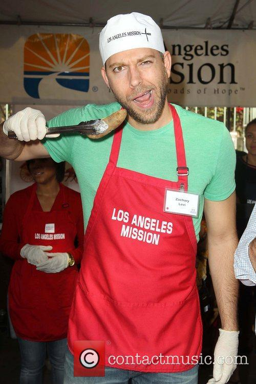 Zachary Levi and Los Angeles Mission 1