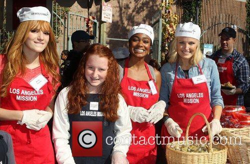 Bella Thorne, Emma Kenney, Tatyana Ali, Malin Akerman and Los Angeles Mission 2