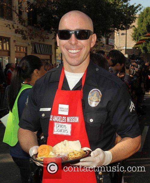 Officer Chris Jarvis,  at the Los Angeles...