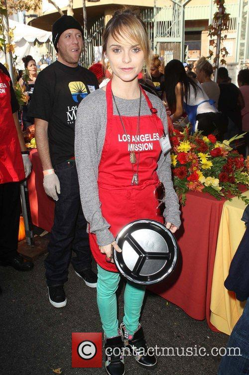 Taryn Manning,  at the Los Angeles Mission's...