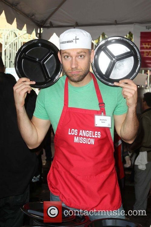 Zachary Levi and Los Angeles Mission 3