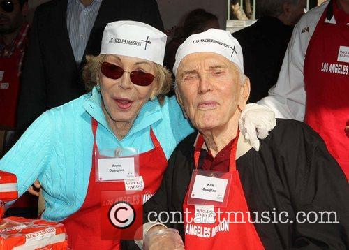 Kirk Douglas and Anne Buydens Douglas 5