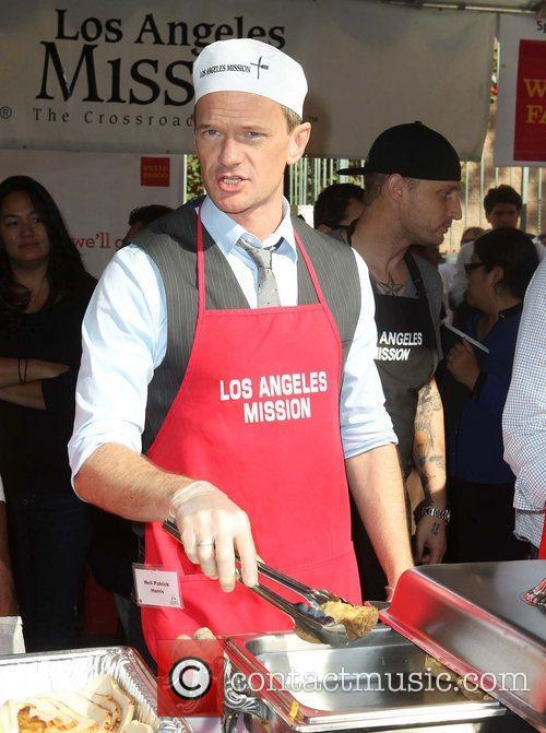 Neil Patrick Harris and Los Angeles Mission 1