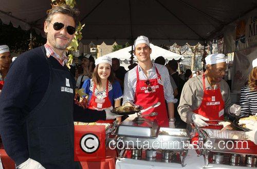 Simon Halls, Matt Bomer and Los Angeles Mission 9