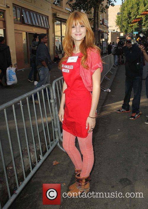 Bella Thorne and Los Angeles Mission 7