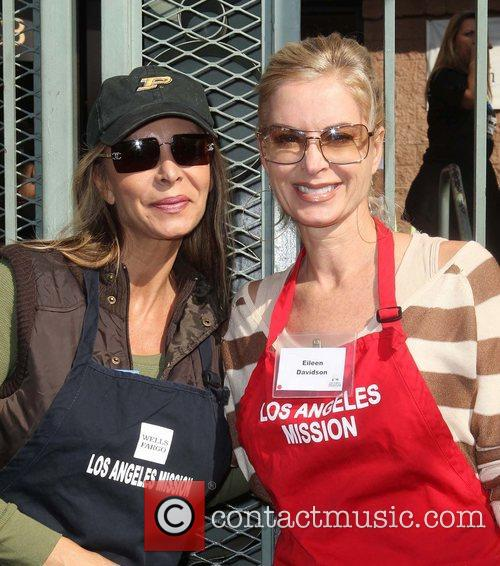 Eileen Davidson and Guest,  at the Los...