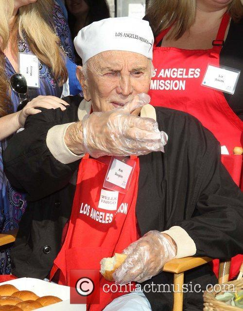 Kirk Douglas and Los Angeles Mission 3