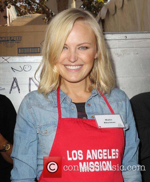 Malin Akerman and Los Angeles Mission 6