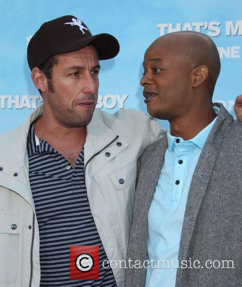 Adam Sandler and Todd Bridges 3