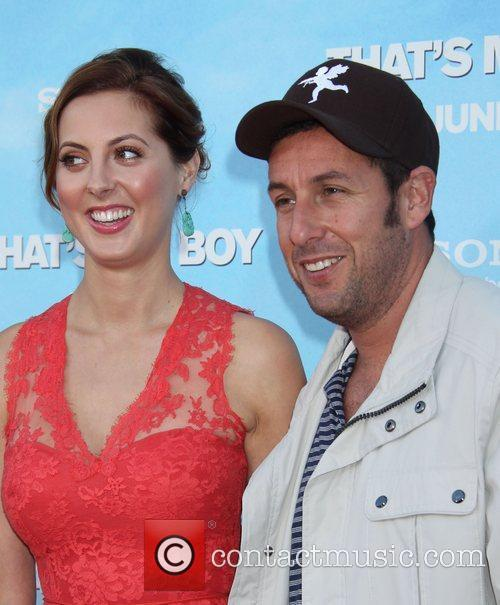 Eva Amurri and Adam Sandler 2