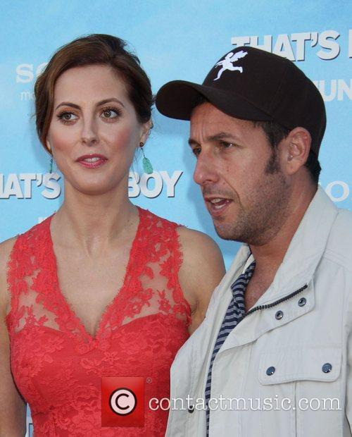 Eva Amurri and Adam Sandler 3