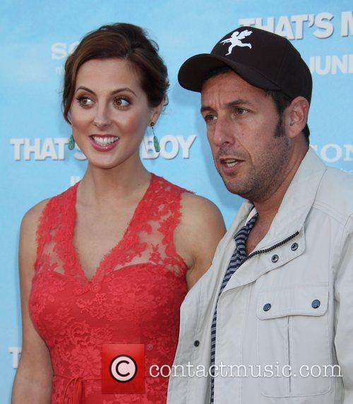 Eva Amurri and Adam Sandler 4