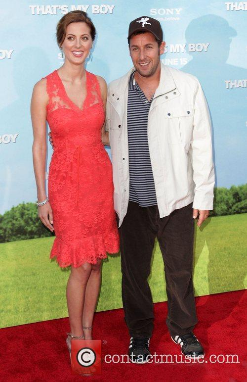 Eva Amurri and Adam Sandler