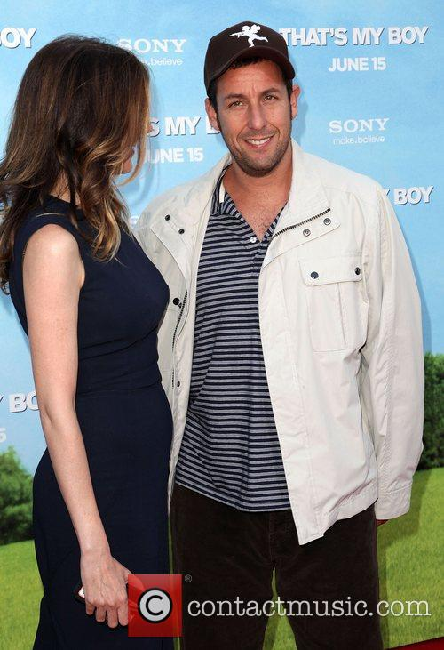 Jackie Titone and Adam Sandler 2
