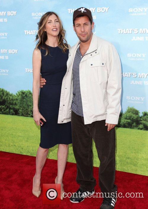 Jackie Titone and Adam Sandler 1
