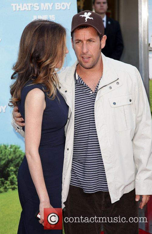 Jackie Titone and Adam Sandler 4