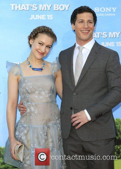 Joanna Newsom and Andy Samberg 6