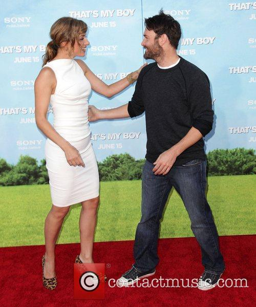 Rebecca Marshall and Will Forte