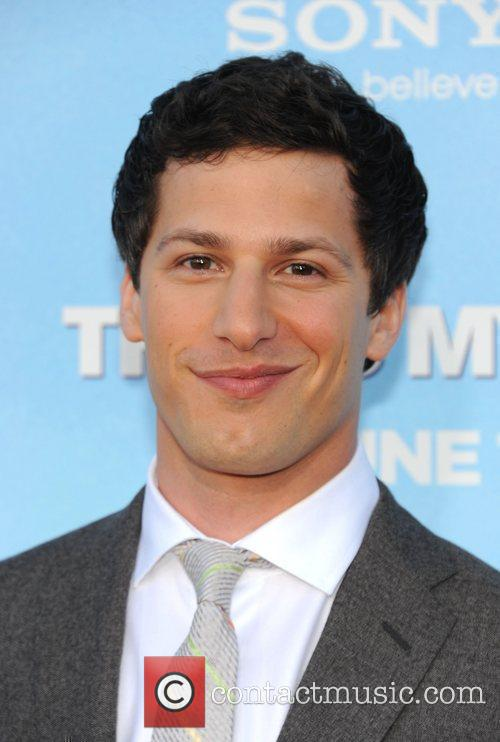 andy samberg premiere of columbia pictures thats 3927922