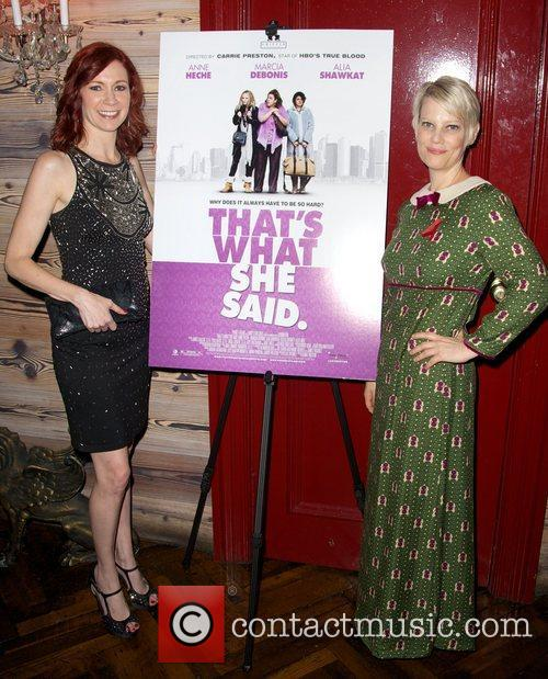 Carrie Preston and Kellie Overbey 4