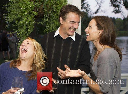 Chris Noth and Minnie Driver 2