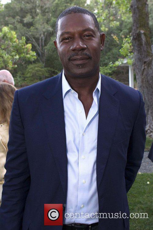 Dennis Haysbert 'The 24 Hour Plays' after performance...