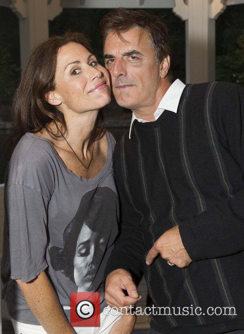 Minnie Driver and Chris Noth 2