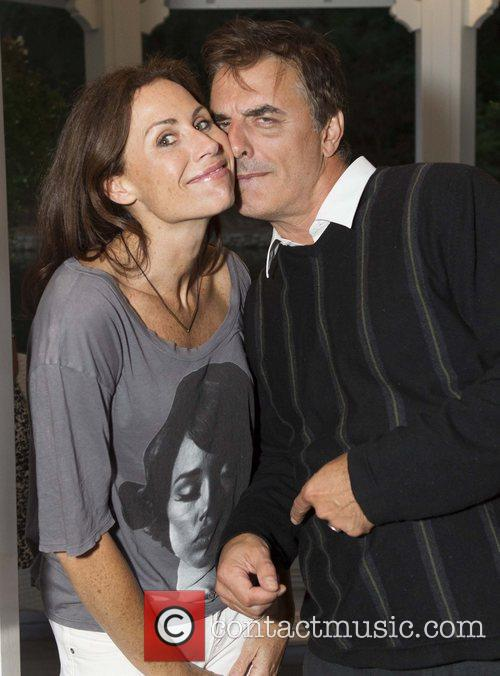 Minnie Driver and Chris Noth 3