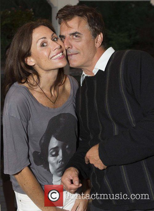 Minnie Driver and Chris Noth 4