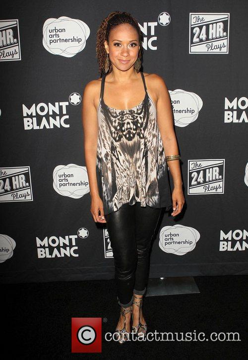 Tracie Thoms  Montblanc presents 'The 24 Hour...
