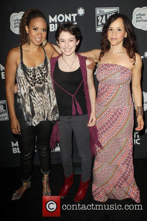 Tracie Thoms, Rosie Perez and Guest Montblanc presents...