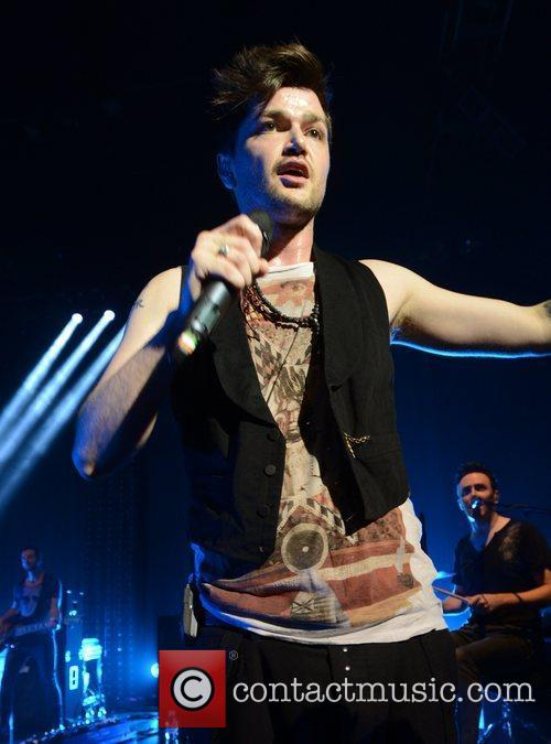 Danny O'Donoghue and The Script perform at Shepherd's...