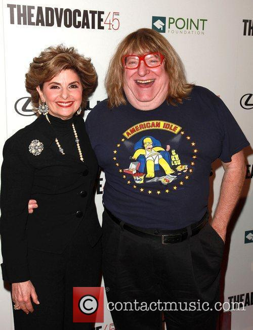 Gloria Allred and Bruce Vilanch  The Advocate...