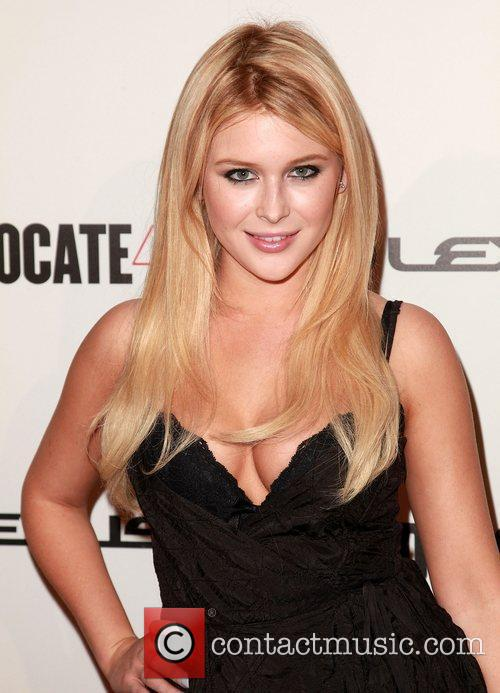 Renee Olstead and Beverly Hilton Hotel 3