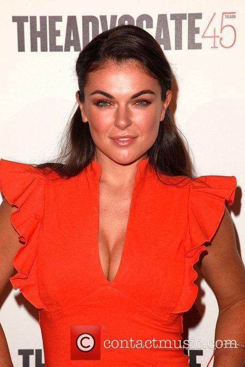 Serinda Swan  The Advocate 45th presented by...