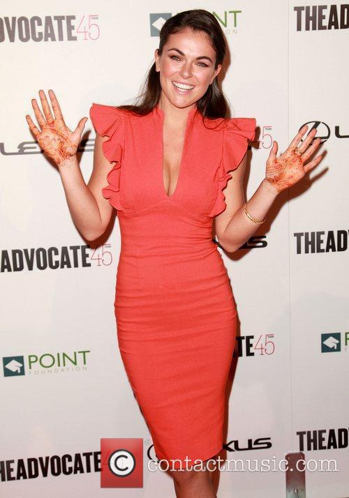 serinda swan the advocate 45th presented by 3805562