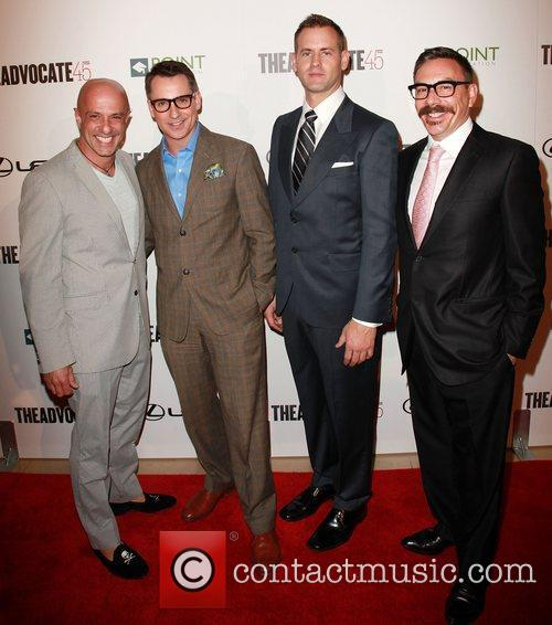 The Advocate's Joe Valentino, Bill Kapfer, Matthew Breen,...