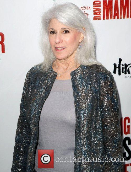 Jamie DeRoy,  at the Broadway opening night...