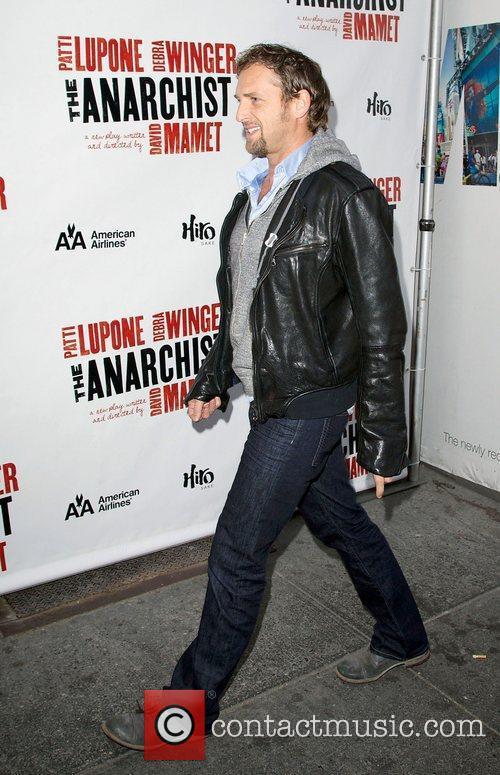 Josh Lucas,  at the Broadway opening night...