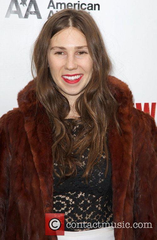 Zosia Mamet,  at the Broadway opening night...