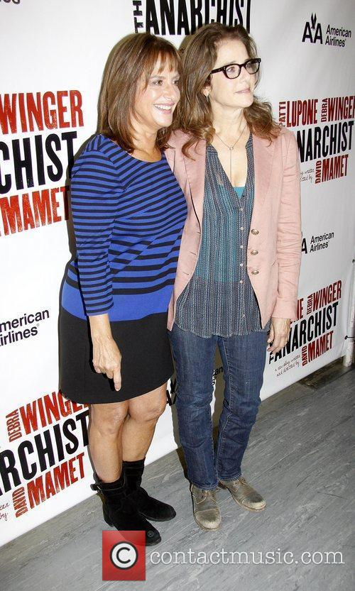 Patti Lupone and Debra Winger 1
