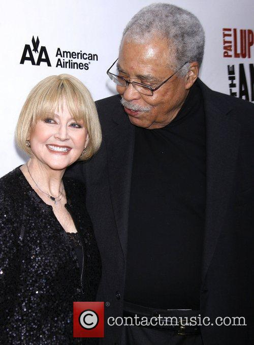 Cecilia Hart, James Earl Jones, Broadway, The Anarchist, Golden Theatre and Arrivals. New York City 1