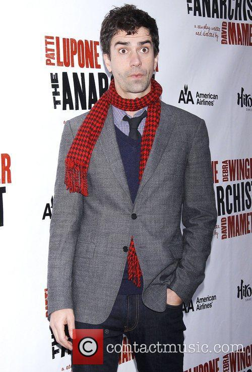 Hamish Linklater, Broadway, The Anarchist, Golden Theatre, Arrivals. New York City