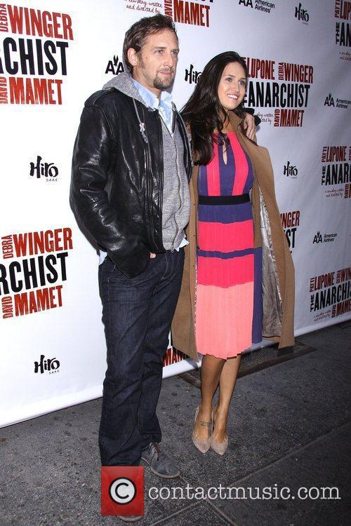 Josh Lucas and Jessica Ciencin Henriquez-Lucas at the...