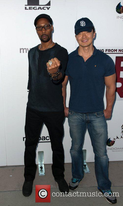 RZA  The Los Angeles Premiere of 'Something...