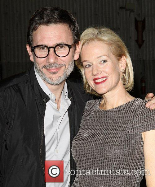 Michel Hazanvicious, Penelope Ann Miller,  at the...