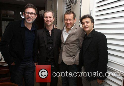 Michel Hazanavicius, David Matinon, Dany Boon and Thomas...