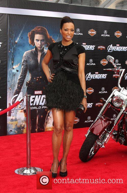 Aisha Tyler  World Premiere of The Avengers...