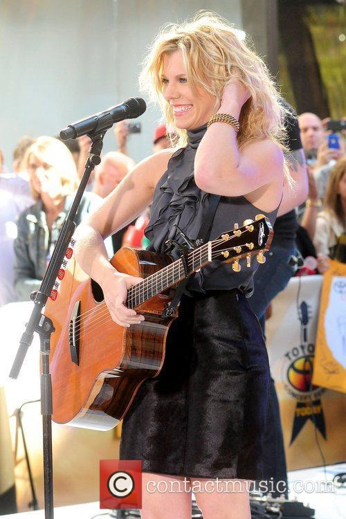 The Band Perry performs live at Rockefeller Center...