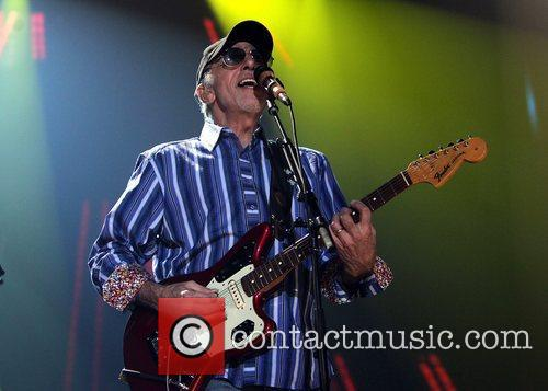The Beach Boys performing live in concert at...